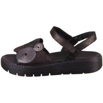 Schuhe Damen Sandalen / Sandaletten Think Sing Schwarz, Braun