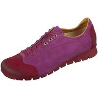 Schuhe Damen Sneaker Low Think Menscha Violett, Dunkelrot