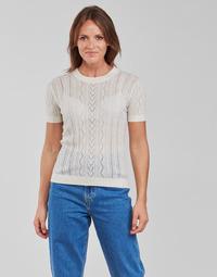 Kleidung Damen Tops / Blusen Betty London PAVARI Weiss