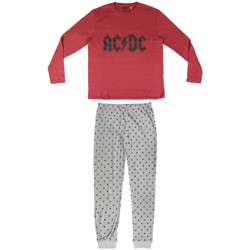 Kleidung Herren Pyjamas/ Nachthemden Ac/dc 2200004849 Rojo