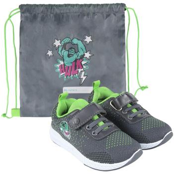 Schuhe Jungen Sneaker Low Avengers 2300004616 Gris