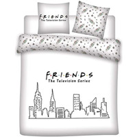 Home Kinder Bettbezug Friends 63788 Blanco