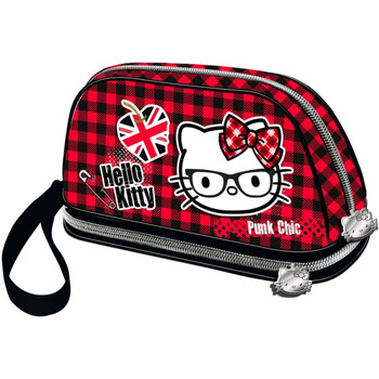 Taschen Damen Kosmetiktasche Hello Kitty 41631 Rojo