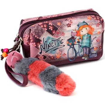 Taschen Damen Kosmetiktasche Ninette 39750 Rojo