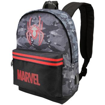 Taschen Kinder Rucksäcke Spiderman 617 Gris