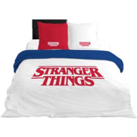 Home Kinder Bettbezug Stranger Things 64112 Blanco