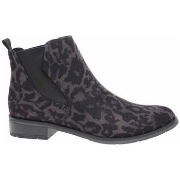 Schuhe Damen Sneaker High Marco Tozzi 222532133241 Schwarz, Braun
