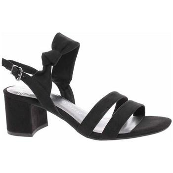 Schuhe Damen Sandalen / Sandaletten Marco Tozzi 222830024001 Schwarz