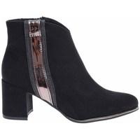 Schuhe Damen Low Boots Marco Tozzi 222503931098 Schwarz