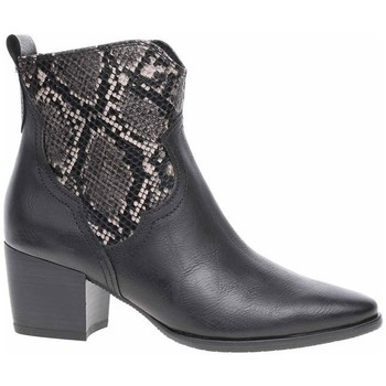Schuhe Damen Low Boots Marco Tozzi 222535323096 Schwarz, Graphit