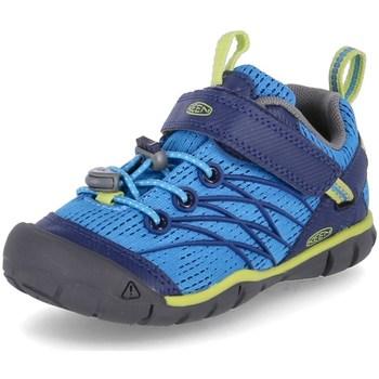 Schuhe Jungen Wanderschuhe Keen Chandler Cnx Blau