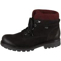 Schuhe Damen Boots Remonte Dorndorf D747604 Schwarz, Dunkelrot