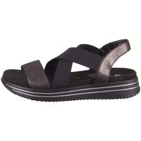 Schuhe Damen Sandalen / Sandaletten Remonte Dorndorf R295402 Schwarz