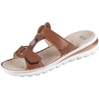 Schuhe Damen Pantoffel Ara Tampa Braun