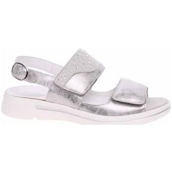 Schuhe Damen Sandalen / Sandaletten Waldläufer 922002210347 Silber