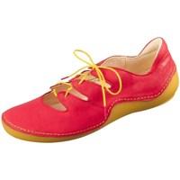 Schuhe Damen Sneaker Low Think Kapsl Fire Rot