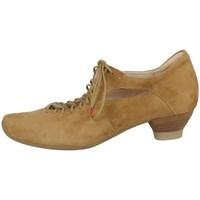 Schuhe Damen Ankle Boots Think 0862555500 Beige