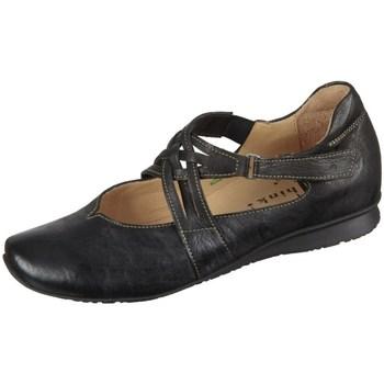 Schuhe Damen Sneaker Low Think Chilli Schwarz