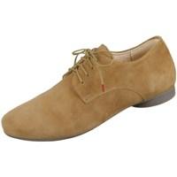 Schuhe Damen Sneaker Low Think Guad Honigfarbig