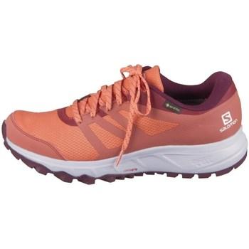 Schuhe Damen Sneaker Low Salomon Trailster 2 Gtx W Orangefarbig