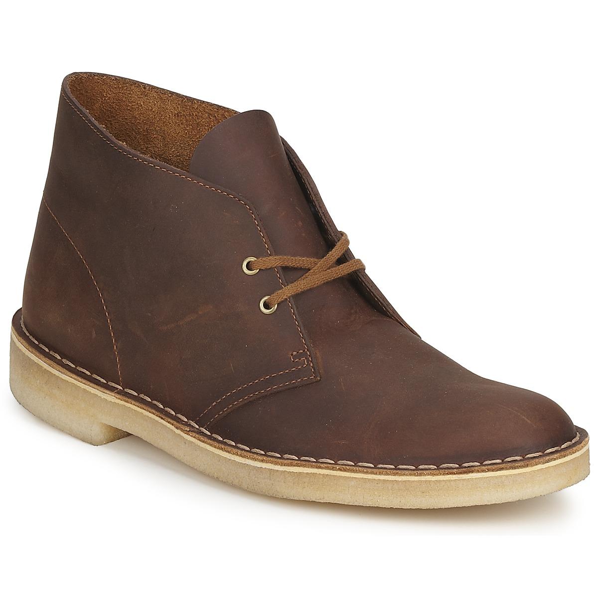 Clarks DESERT BOOT Braun - Kostenloser Versand bei Spartoode ! - Schuhe Boots Herren 103,20 €
