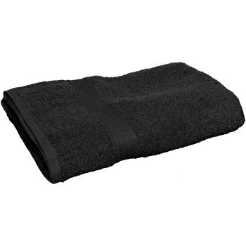 Home Handtuch und Waschlappen Towel City 30 cm x 50 cm Schwarz
