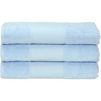 Home Handtuch und Waschlappen A&r Towels 50 cm x 100 cm Hellblau