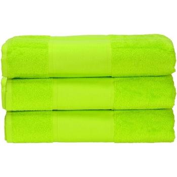 Home Handtuch und Waschlappen A&r Towels 50 cm x 100 cm Limettengrün