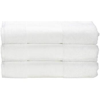 Home Handtuch und Waschlappen A&r Towels 50 cm x 100 cm Weiß