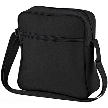 Taschen Jungen Umhängetaschen Bagbase BG16 Schwarz/Dunkelgrau