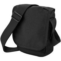 Taschen Jungen Schultasche Bagbase BG18 Schwarz