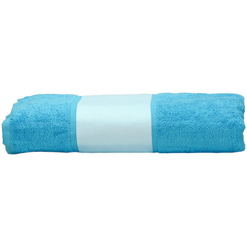 Home Handtuch und Waschlappen A&r Towels 50 cm x 100 cm Aqua Blau