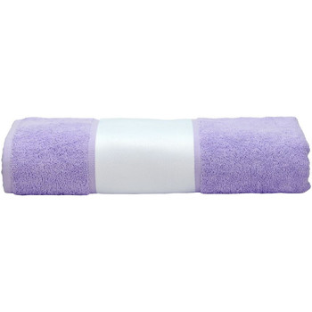 Home Handtuch und Waschlappen A&r Towels 50 cm x 100 cm Hell Lila