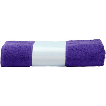 Home Handtuch und Waschlappen A&r Towels 50 cm x 100 cm Violett