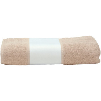 Home Handtuch und Waschlappen A&r Towels 50 cm x 100 cm Sand