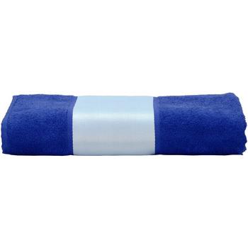 Home Handtuch und Waschlappen A&r Towels 50 cm x 100 cm Echt Blau