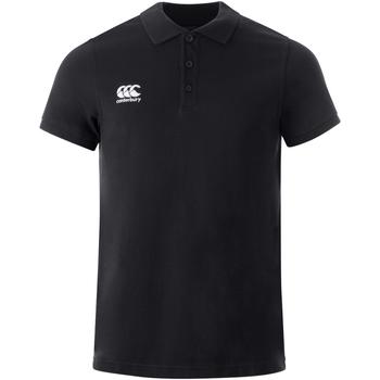 Kleidung Polohemden Canterbury  Schwarz