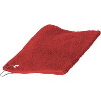 Home Handtuch und Waschlappen Towel City 30 cm x 50 cm Rot