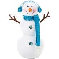 Home Weihnachtsdekorationen Christmas Shop RW5870 Weiß/Blau
