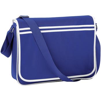 Taschen Jungen Schultasche Bagbase BG71 Royalblau/Weiß