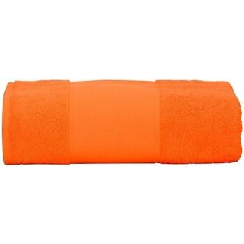 Home Handtuch und Waschlappen A&r Towels Taille unique Hell Orange