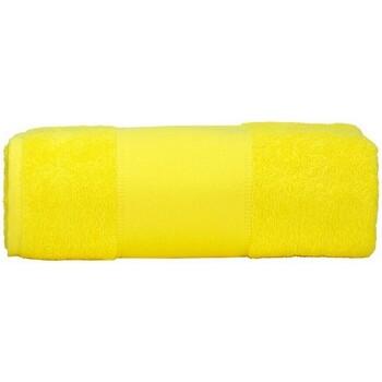 Home Handtuch und Waschlappen A&r Towels Taille unique Hell Gelb