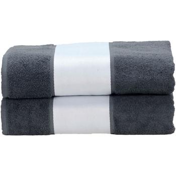 Home Handtuch und Waschlappen A&r Towels Taille unique Graphite