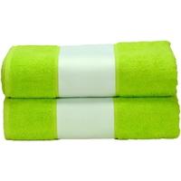 Home Handtuch und Waschlappen A&r Towels Taille unique Limettengrün