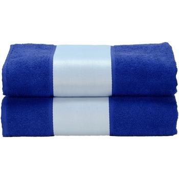 Home Handtuch und Waschlappen A&r Towels Taille unique Echt Blau