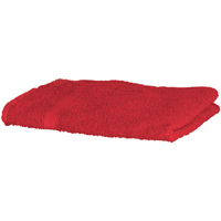 Home Handtuch und Waschlappen Towel City Taille unique Rot