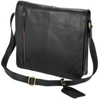 Taschen Jungen Schultasche Eastern Counties Leather  Schwarz