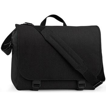 Taschen Jungen Schultasche Bagbase BG218 Schwarz
