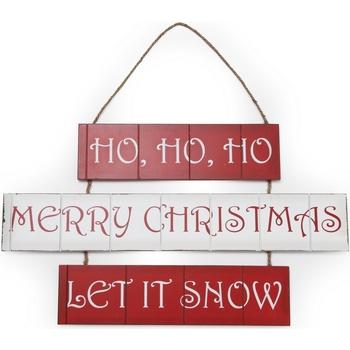Home Weihnachtsdekorationen Christmas Shop Taille unique (59 x 36 cm) Rot/Weiß