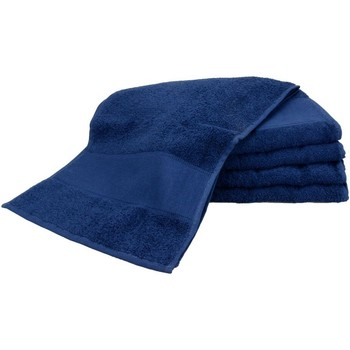 Home Handtuch und Waschlappen A&r Towels Taille unique Marineblau